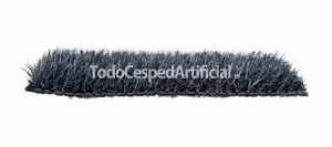 cesped artificial color gris